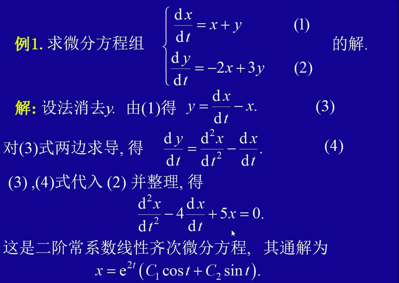 微分 方程式